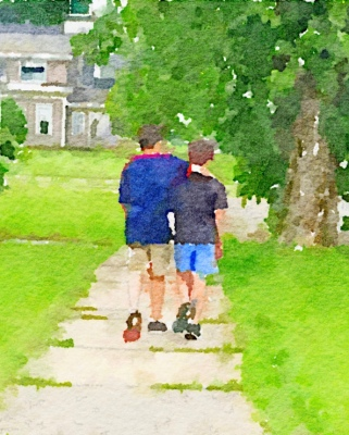 Same photo using Waterlogue