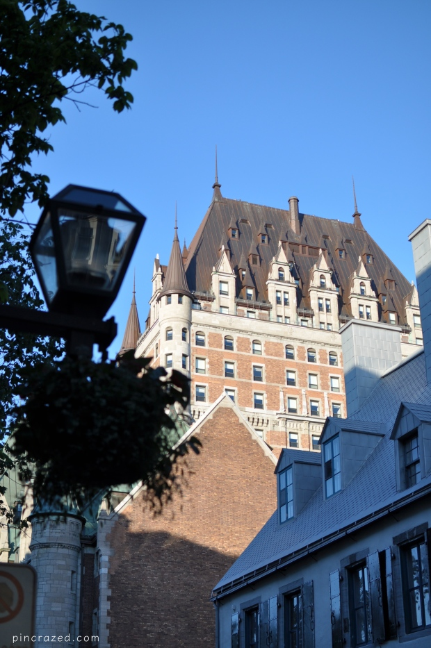 Chateau Frontenac - Old Quebec City
