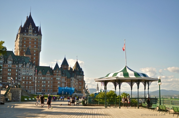 Dufferin Terrace - Old Quebec City