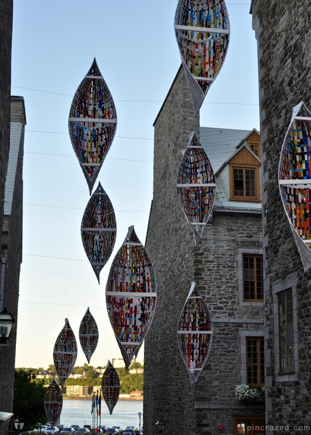 Public Art in Lower Town - Old Quebec City