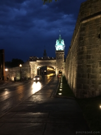 Ramparts and Kent Gate - Old Québec City