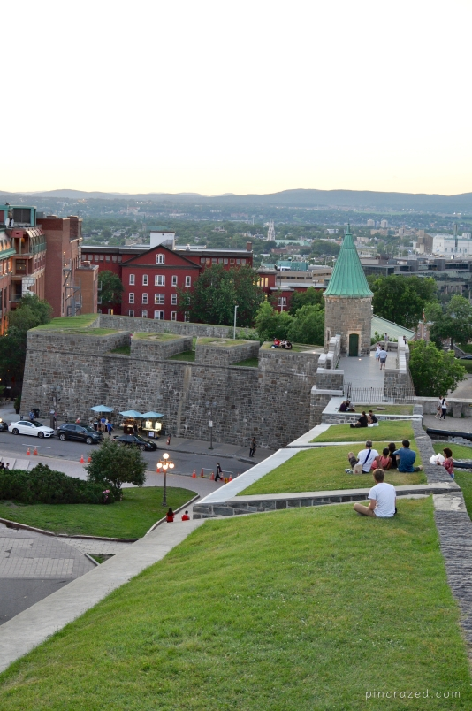 Ramparts  - Old Québec City